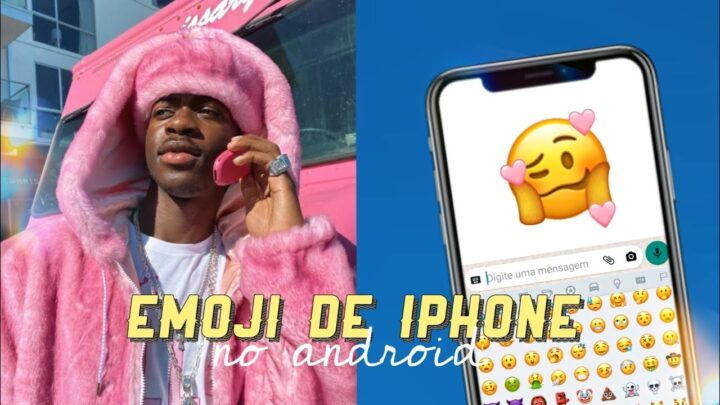 como ter EMOJI DE IPHONE *ios 14 no ANDROID 10 (sem usar o zFont)