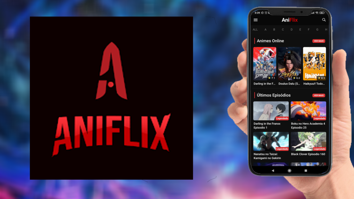 AniFlix – Animes e Desenhos no Celular Android