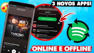 CONHEÇA AGORA OS 3 MELHORES APLICATIVOS PARA OUVIR MUSICAS NO SEU ANDROID