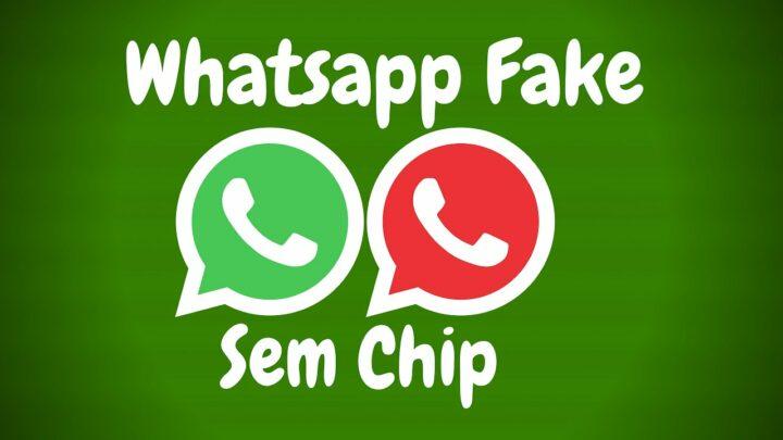 SAIU ! Como Fazer Conta no WhatsApp Sem CHIP ( Atualizado 2021 )