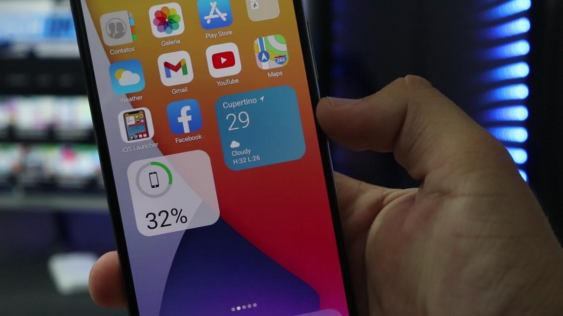 LANÇOU ! Nova LAUNCHER IPHONE 13 PRO MAX Para Celulares Android – 2021